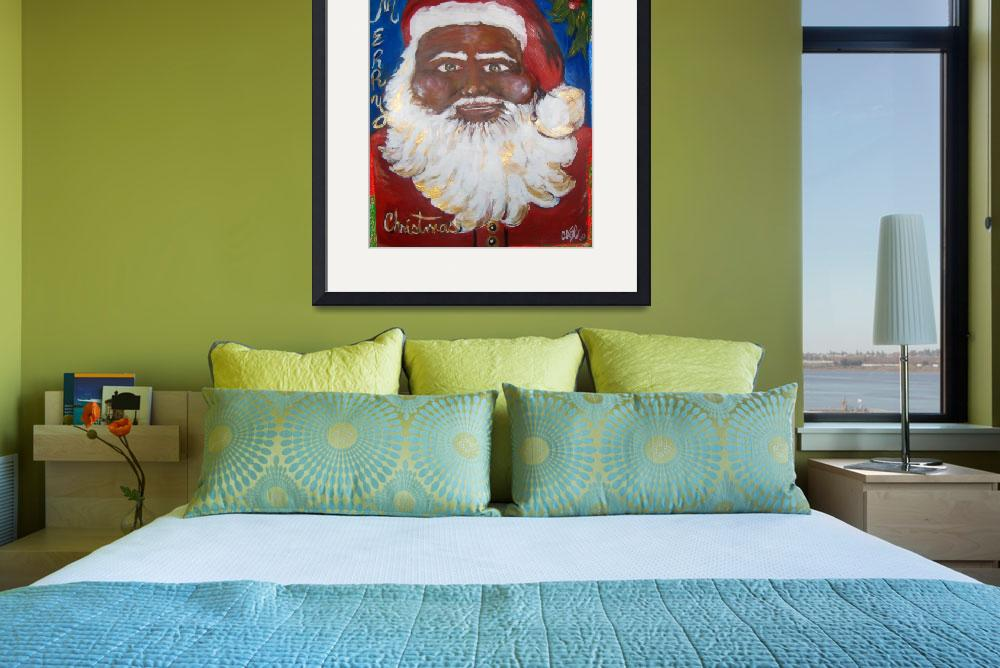 """""""Jolly Santa&quot  by CASB"""