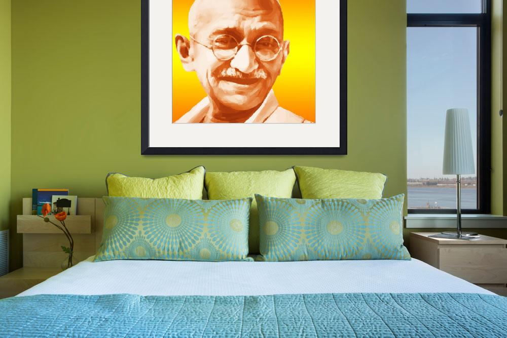 """Gandhi&quot  (2010) by Brian60"