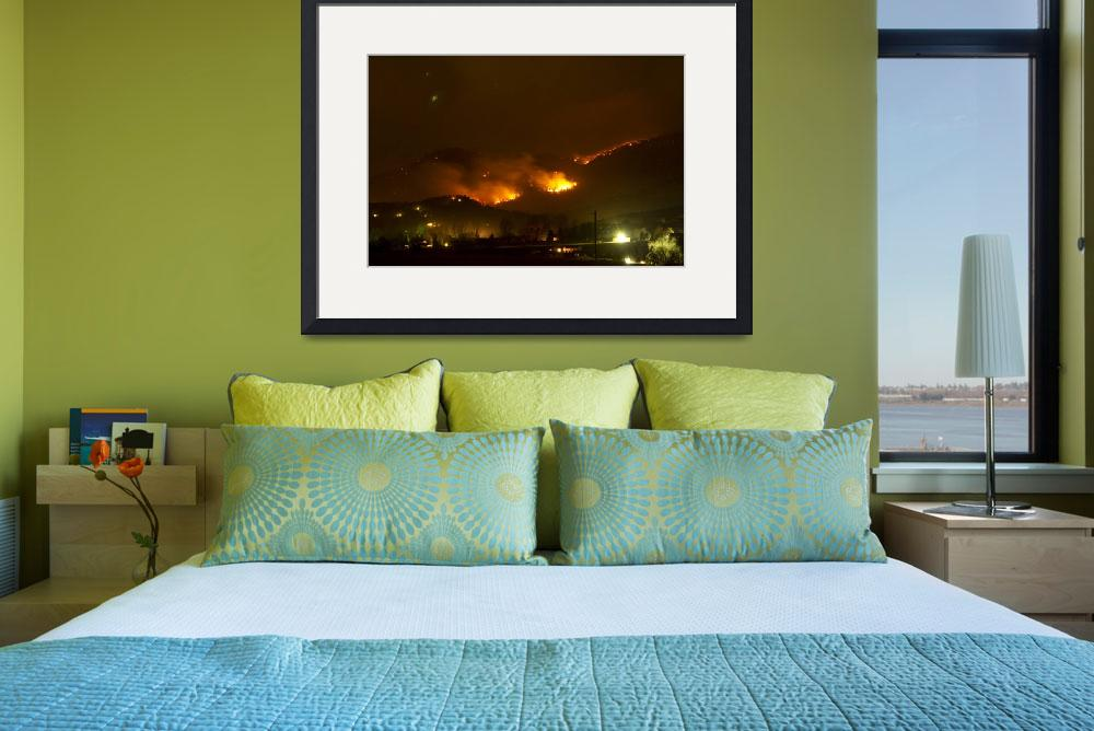 """""""Lefthand Canyon Wildfire Boulder County Colorado 3&quot  (2011) by lightningman"""