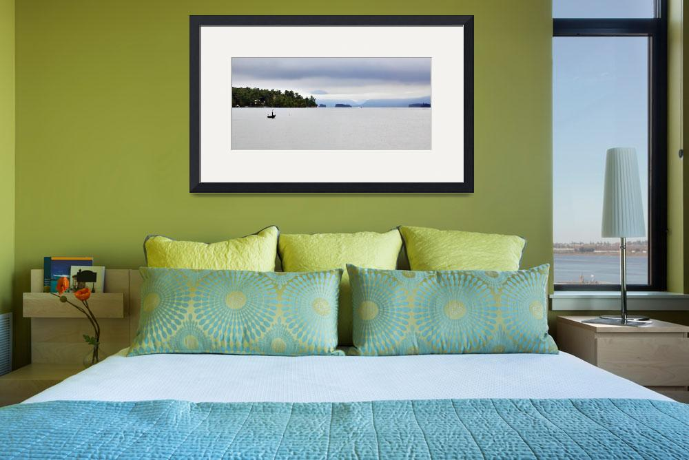 """""""Fishing on Lake George&quot  (2011) by jkphotos"""