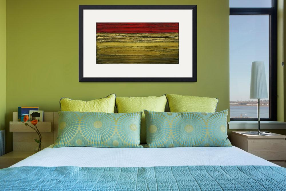 """""""Abstract Landscape&quot  (2009) by modernhouseart"""