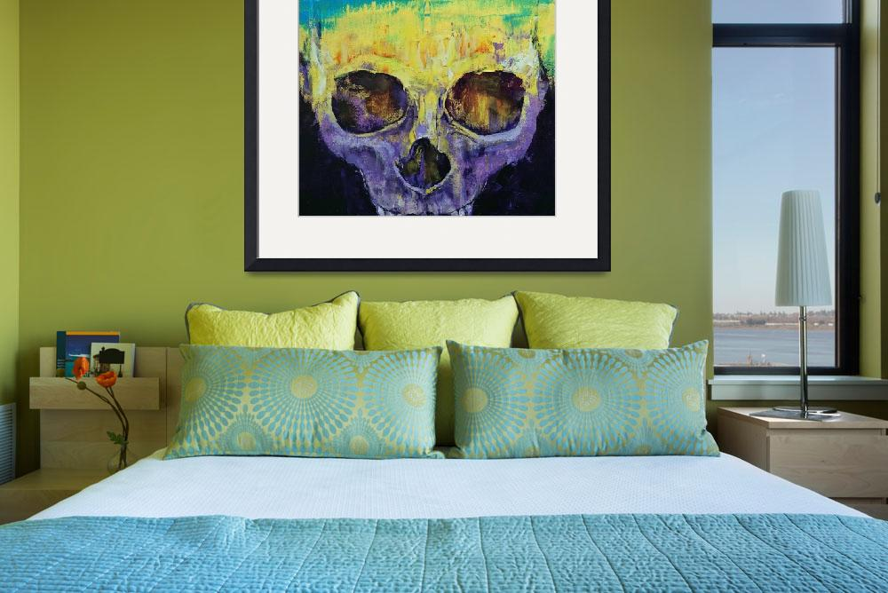 """""""Grunge Skull&quot  by creese"""