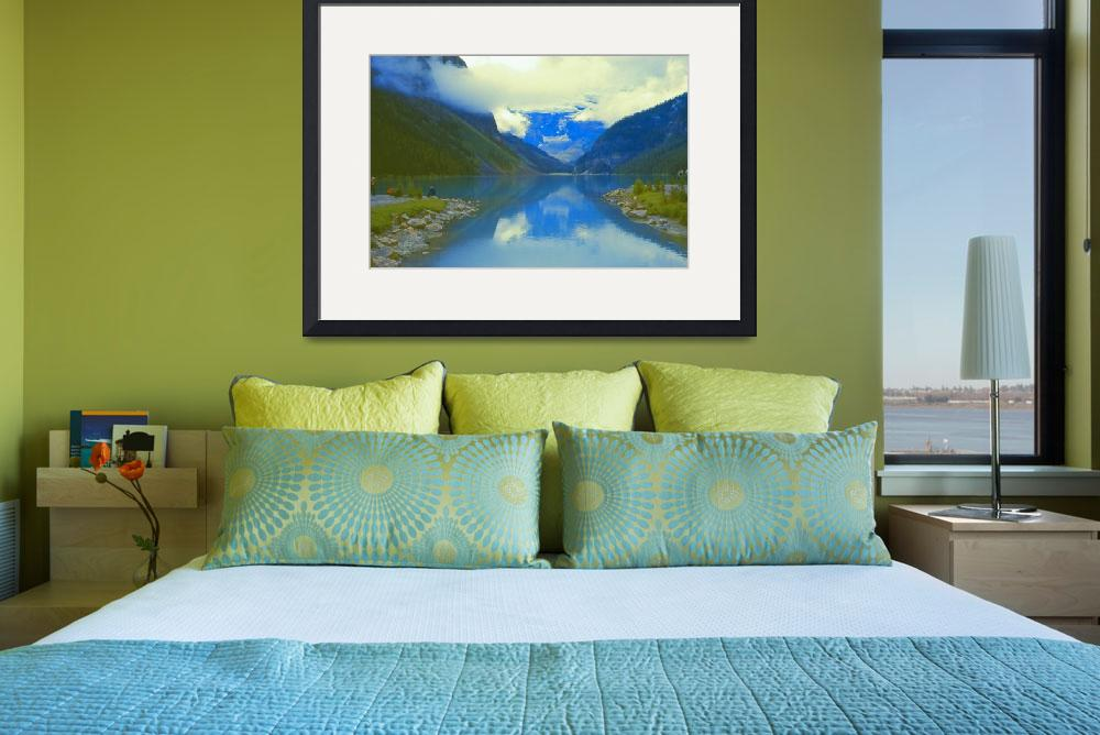 """""""Lake Louise 1973&quot  (1973) by PriscillaTurner"""