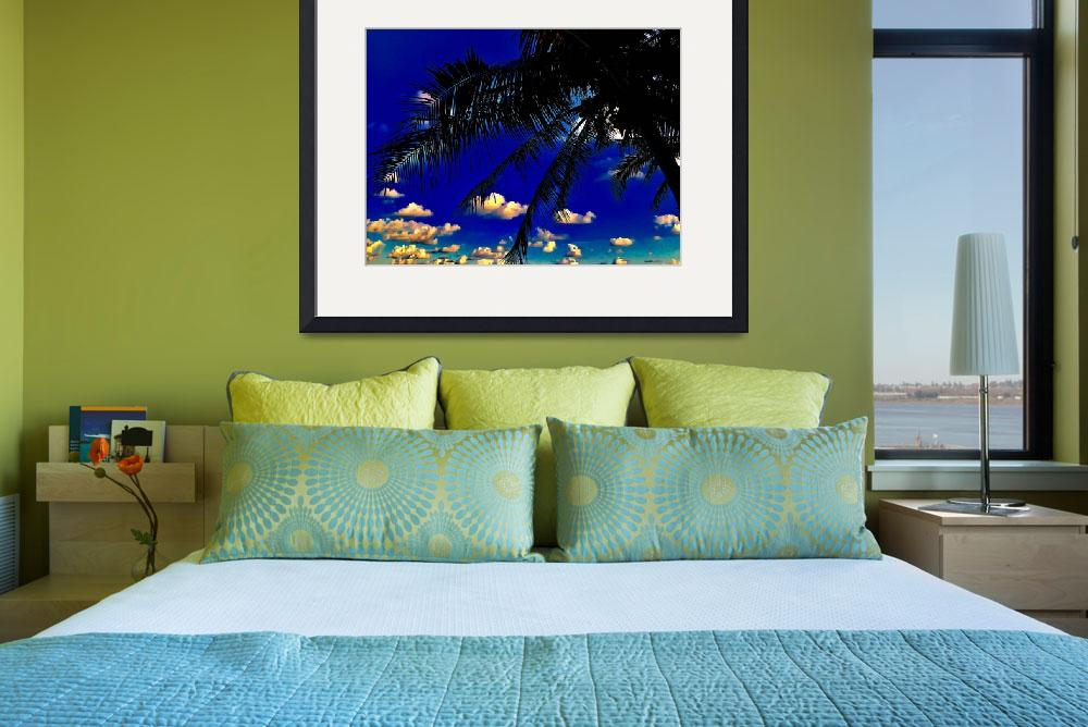 """""""Azul Palms&quot  (2016) by ShaneJBall"""