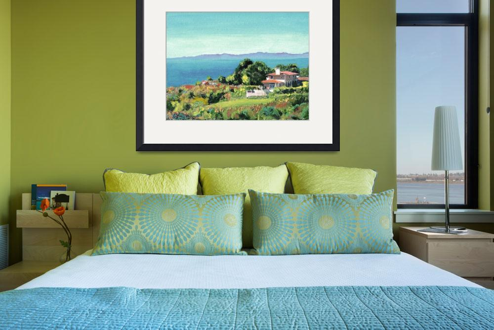 """""""View of Santa Monica Bay from Palos Verdes&quot  (2011) by RDRiccoboni"""