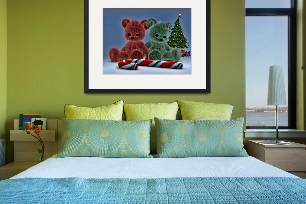 """""""Christmas Bears&quot  (2014) by AlexButler"""