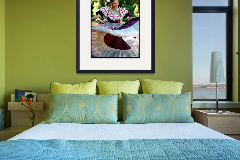 """""""Traditional Mexican Dancer by Gerald Huth&quot  (2010) by jillnjer"""