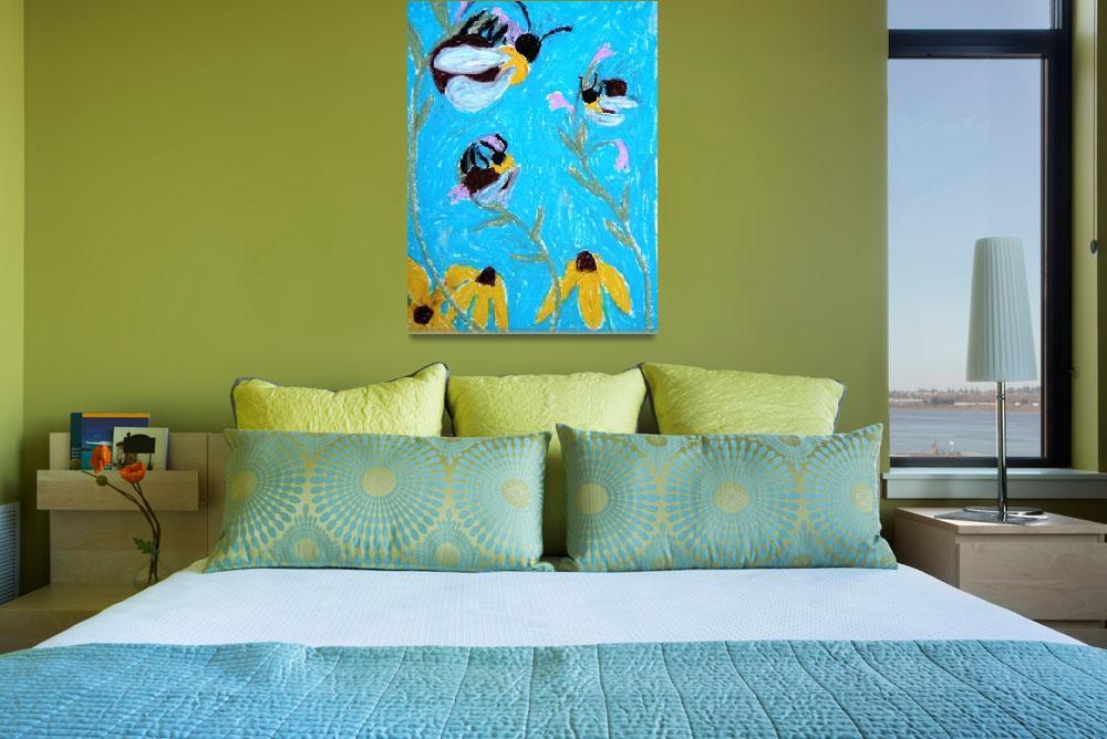 """3 Sleeping Bees&quot  by sondrasula"