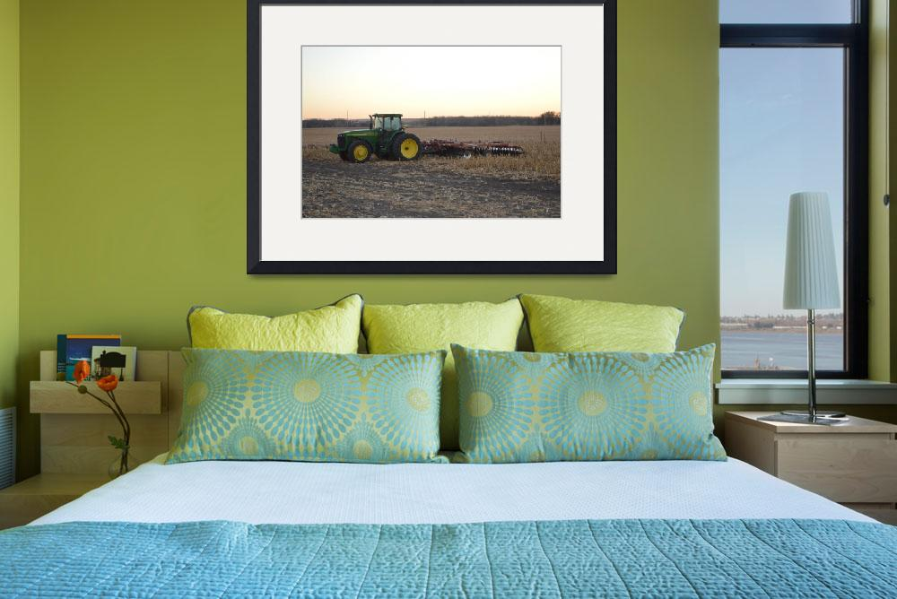 """""""John Deere And Disc&quot  (2012) by Renie"""