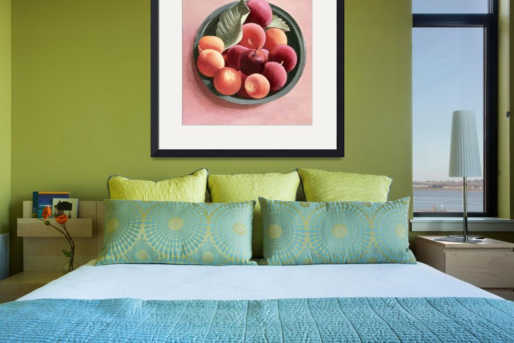 """""""Bowl of Fruit (egg tempera on paper)&quot  by fineartmasters"""