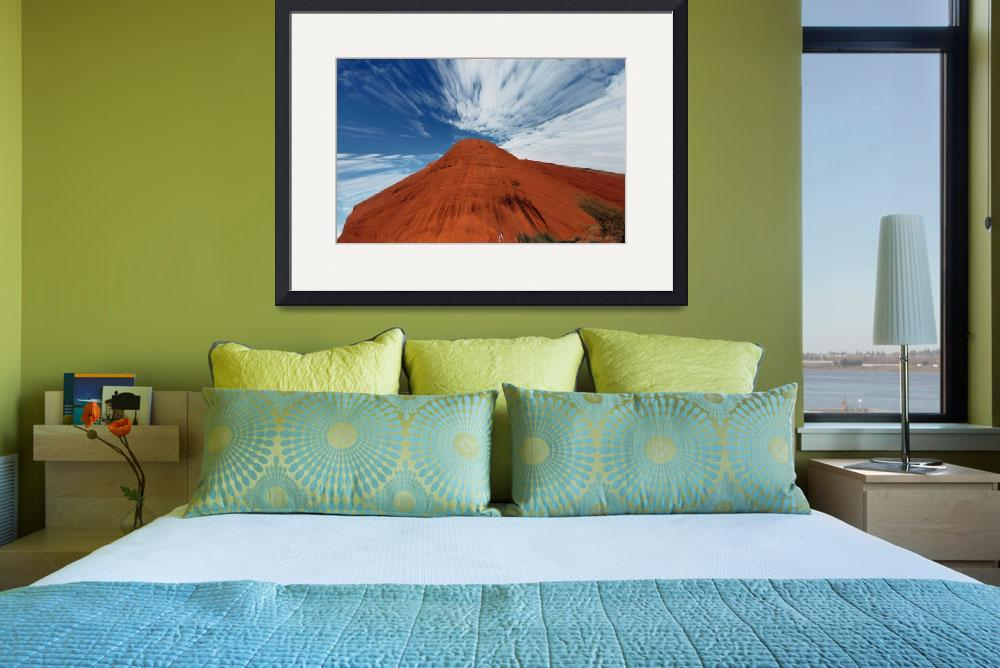 """""""Mountain and Sky&quot  (2008) by theposterguy"""