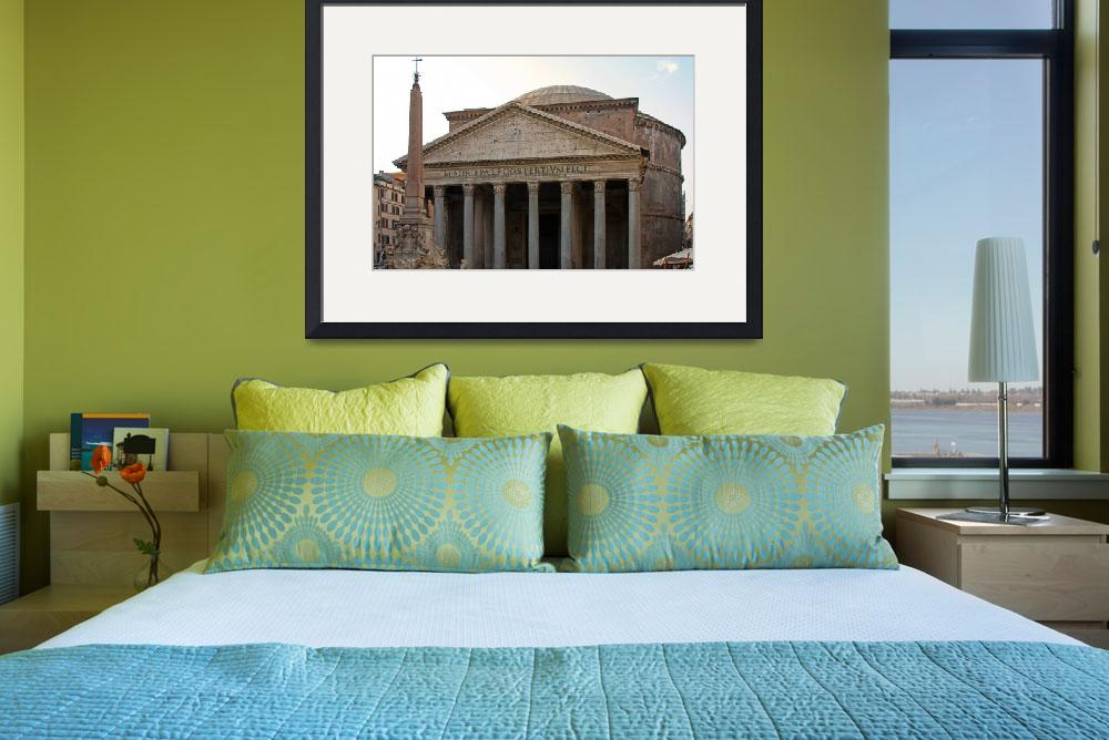 """""""The Pantheon (IMG_1991_edited-1)&quot  (2008) by BartimusMaximus"""