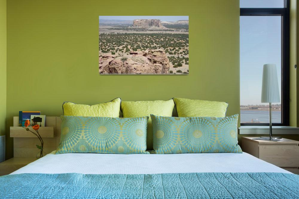 """""""Acoma Pueblo View&quot  (2008) by NdnzGonWild"""