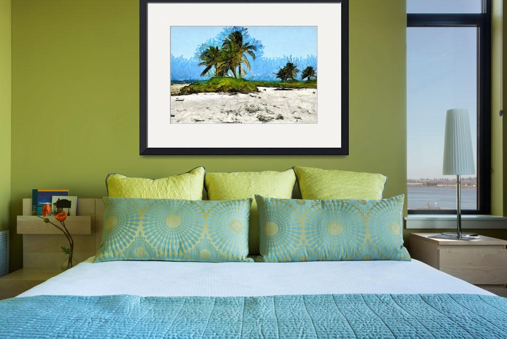 """""""Cayman Islands Beach At Starfish Point&quot  (2011) by JBrooker"""