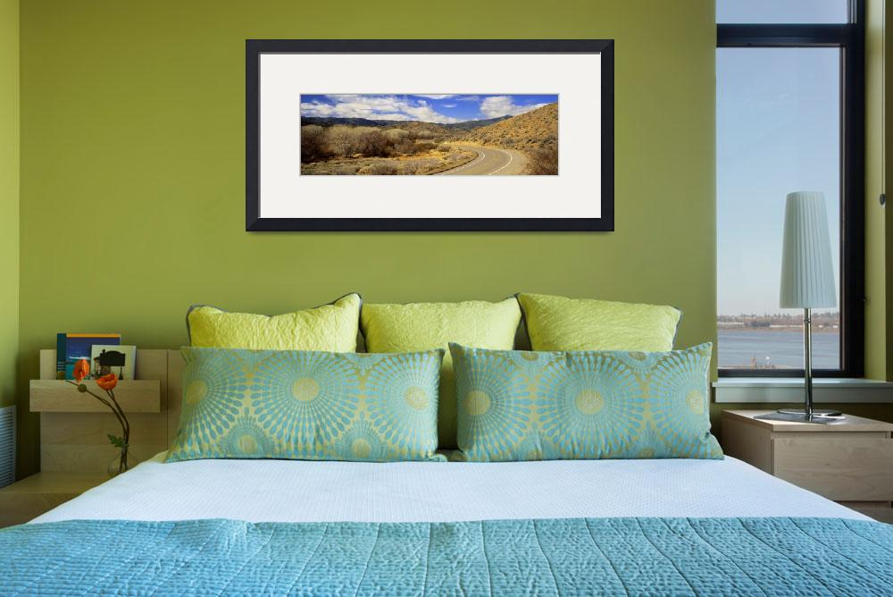 """""""Curving Road Anza Borrego CA&quot  by Panoramic_Images"""