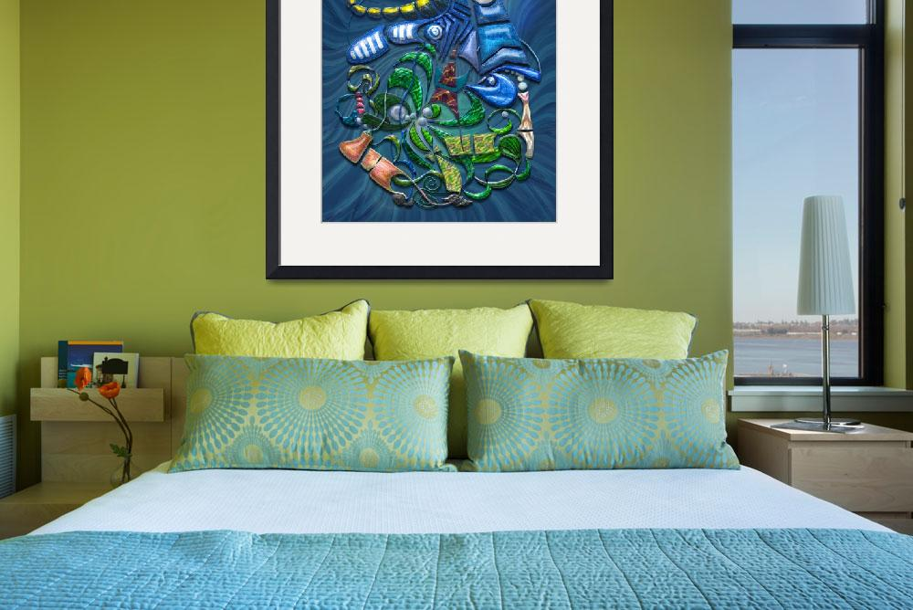 """""""Dreaming with the Fishes&quot  (2009) by Markomarko"""