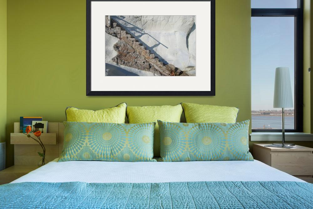 """""""Pismo Beach Stairs&quot  (2008) by bGagne"""