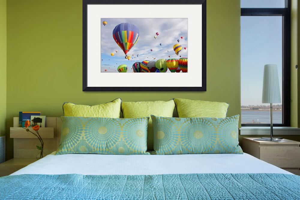 """""""Hot Air Balloons&quot  (2010) by debby19"""