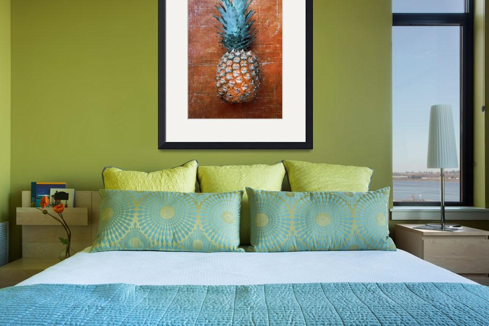 """""""ORL-5288-2 Pineapple Country Style II&quot  by Aneri"""