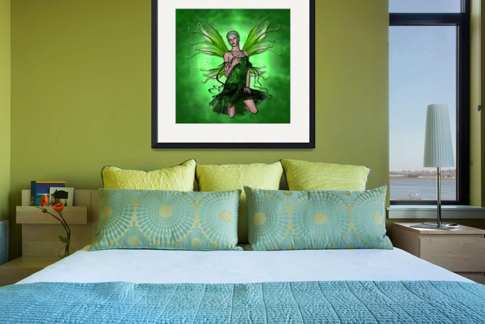 """""""Absinthe The Green Fairy&quot  (2008) by KRWdesigns"""