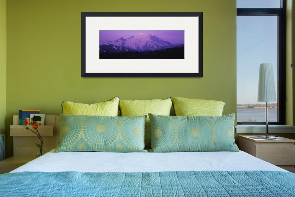 """""""Snowcapped mountain&quot  by Panoramic_Images"""