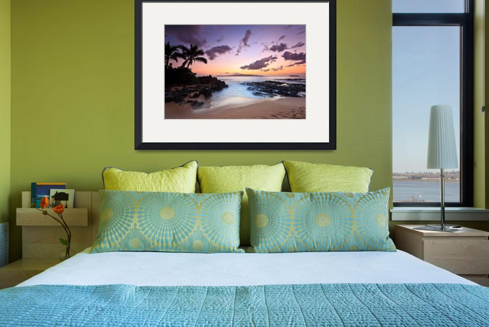 """""""Makena Cove Sunset 20745&quot  (2015) by RJ"""