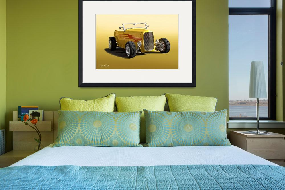 """""""1932 Ford HiBoy Roadster&quot  by FatKatPhotography"""