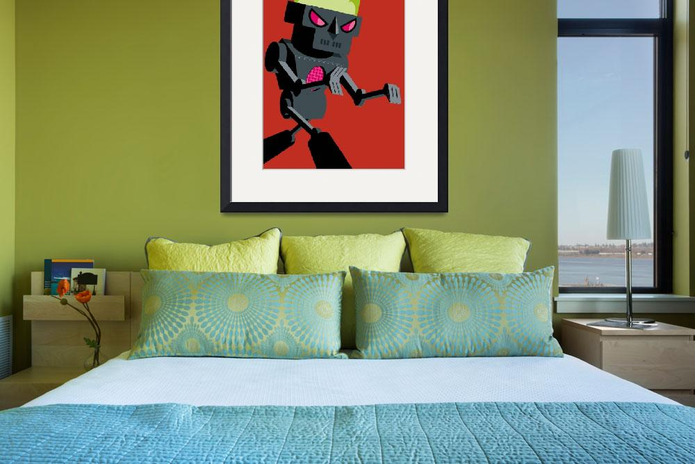 """""""Death Robot""""  (2009) by helvetica_mouse"""