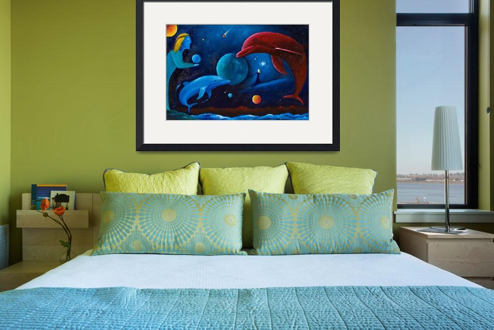 """""""Dolphin Magic&quot  (2008) by theartmystic"""