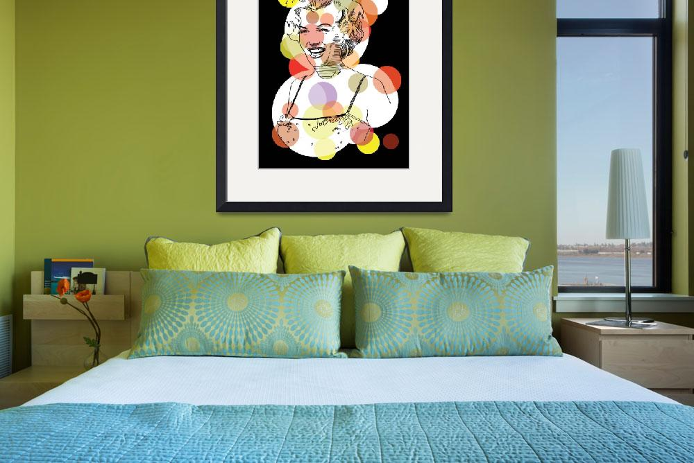 """redbubble-marilyn-t&quot  by RichDelux"
