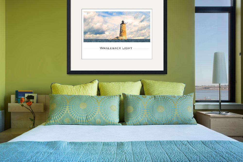 """Whaleback Lighthouse Maine Harbor&quot  (2007) by digitalvisions"