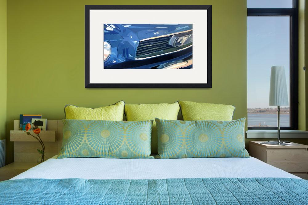 """""""66 Mustang&quot  (2006) by russellmoore"""