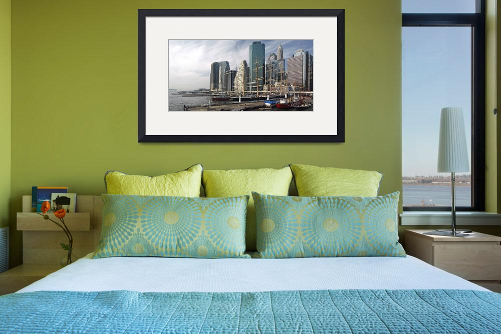 """""""Downtown Panorama&quot  (2008) by PaulCoco"""