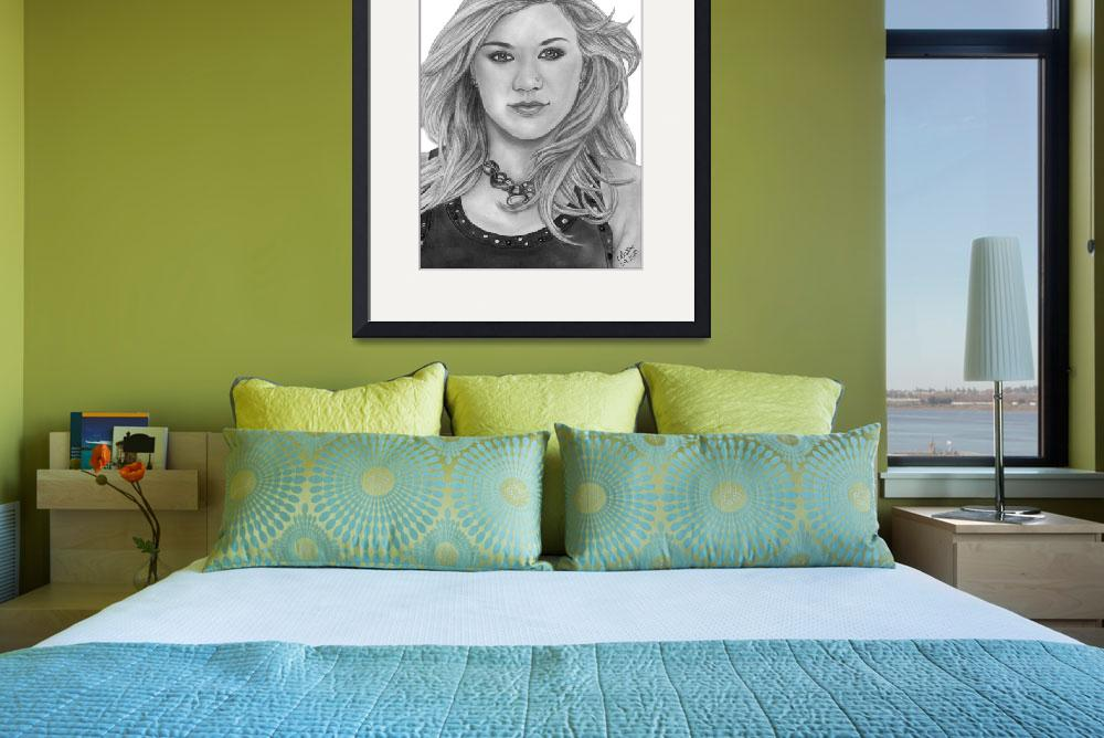 """""""Kelly Clarkson 001&quot  (2010) by mandydboss"""