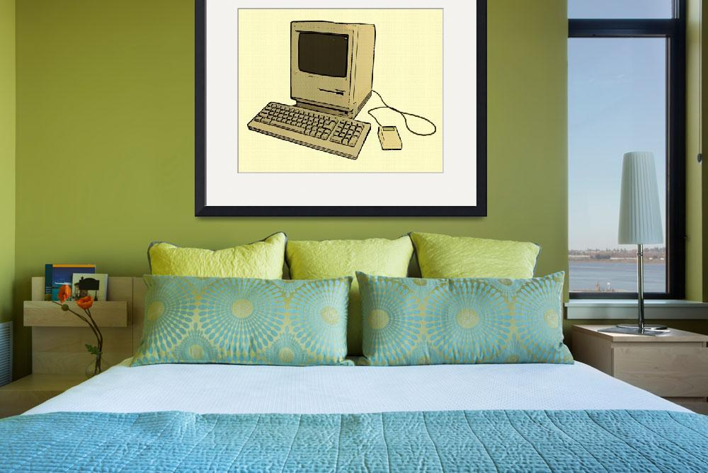 """Vintage Mac 2&quot  (2011) by geiger"