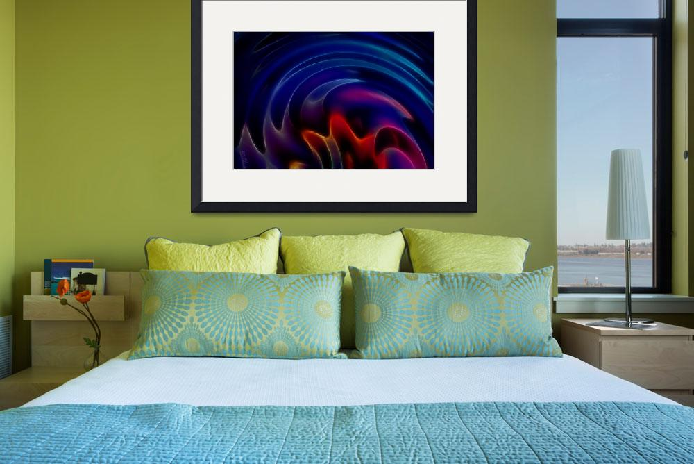 """""""Swirling Rainbow by Angel Honey, 2010&quot  (2010) by AngelsCreativeWorks"""