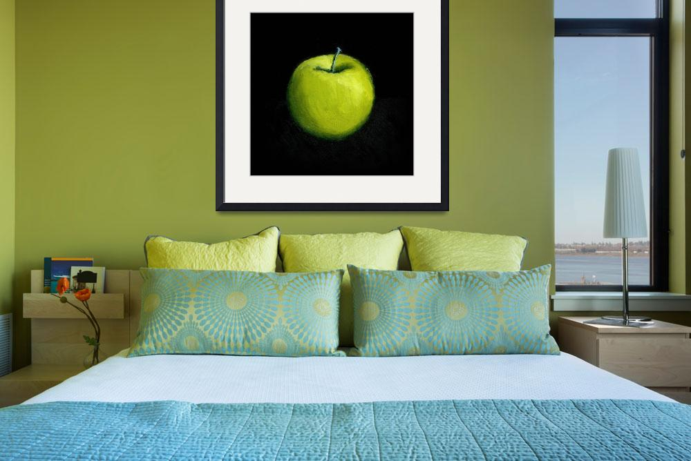"""Green Apple Still Life&quot  (2007) by Michelle1991"
