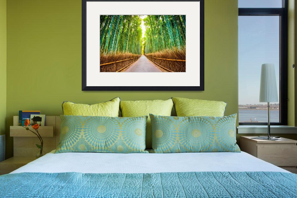 """Japan Photo Framed Print&quot  by buddakats1"