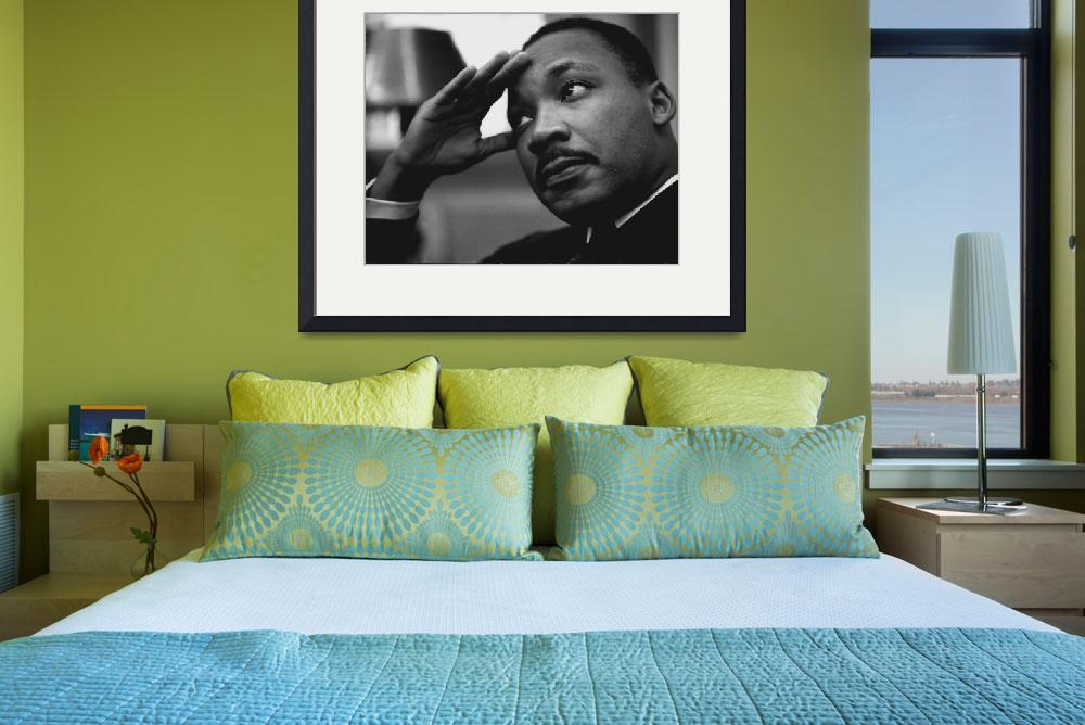 """""""Martin Luther King&quot  by RetroImagesArchive"""