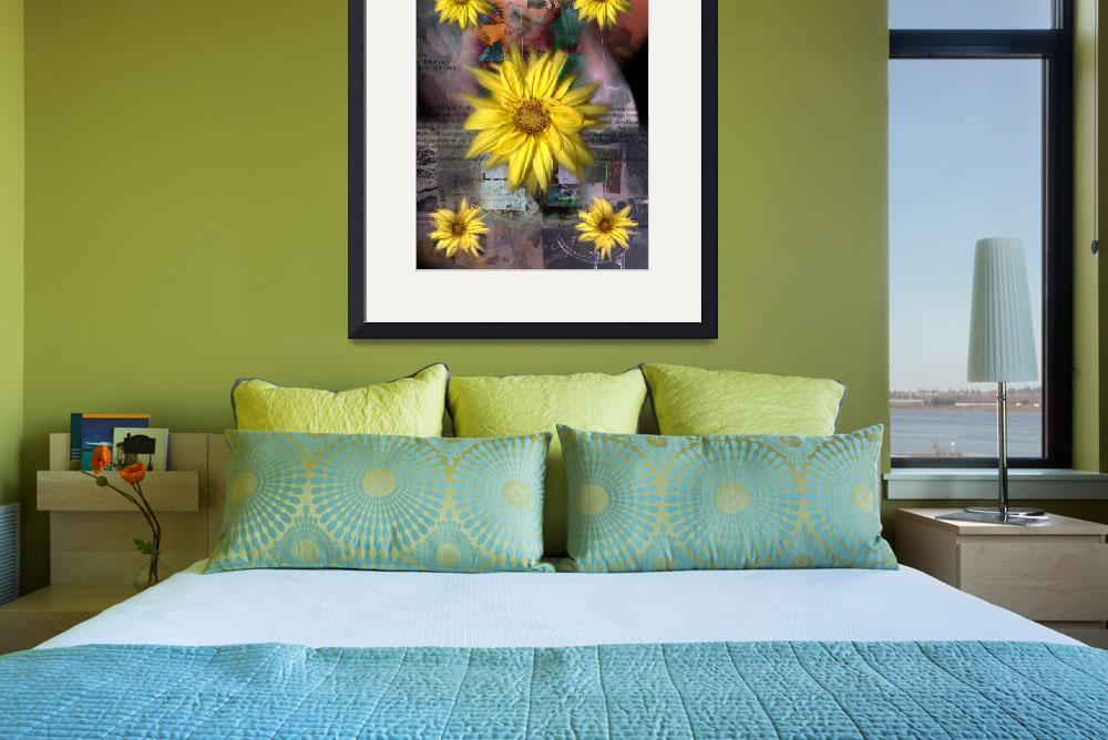 """""""Black-eyed Susan&quot  (2007) by karmadreams"""