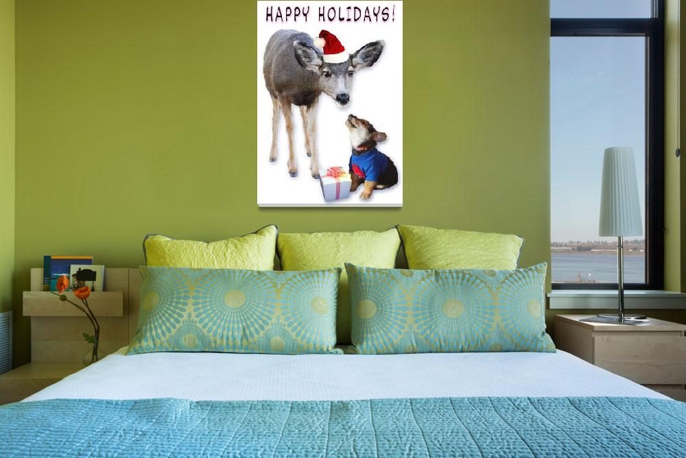 """""""happy holidays&quot  (2010) by rchristophervest"""