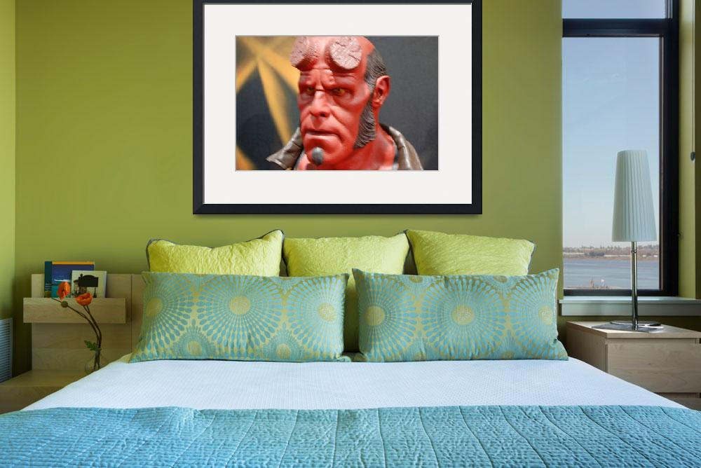 """""""Hellboy&quot  (2008) by Butchspetsupplies"""