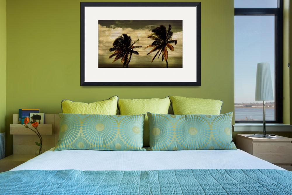 """Classic Palms&quot  (2011) by PerryWebster"