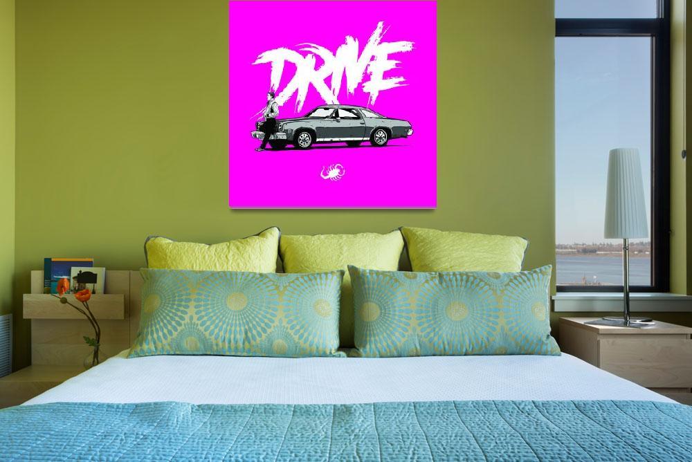 """""""DRIVE (Pink ed.)&quot  (2013) by federicomancosu"""