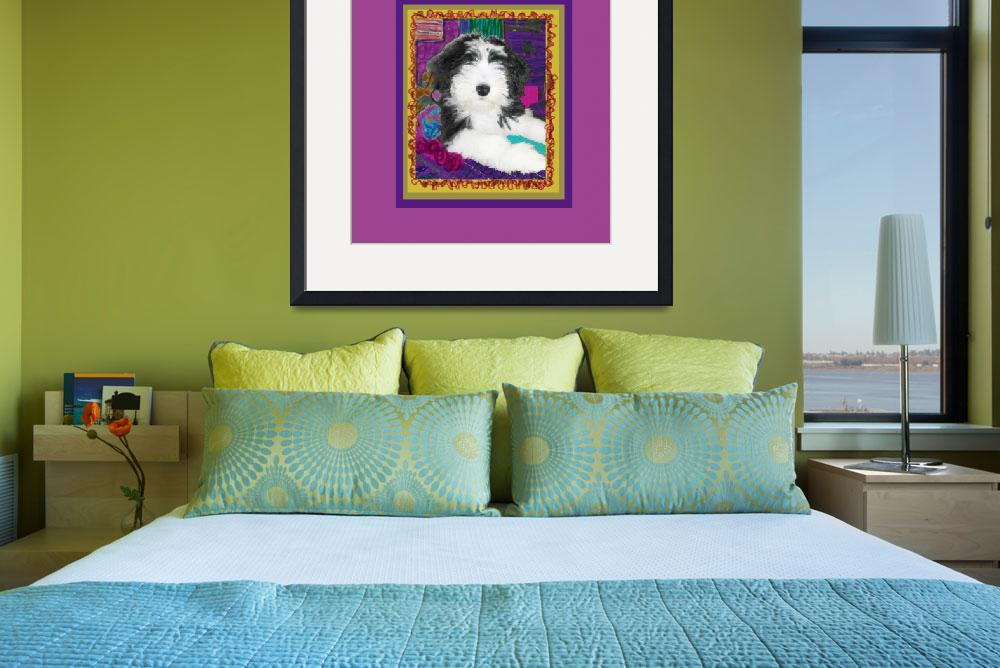"""Bearded Collie with stature&quot  (2009) by kring"