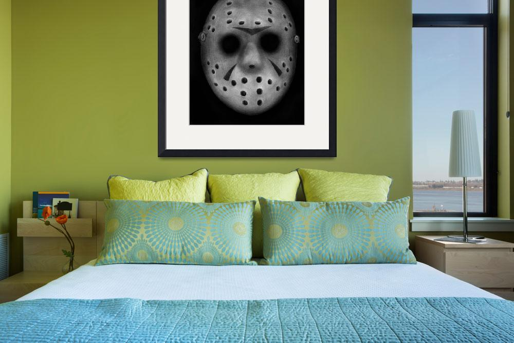 """Jason Vorhees&quot  (2011) by axemangraphics"