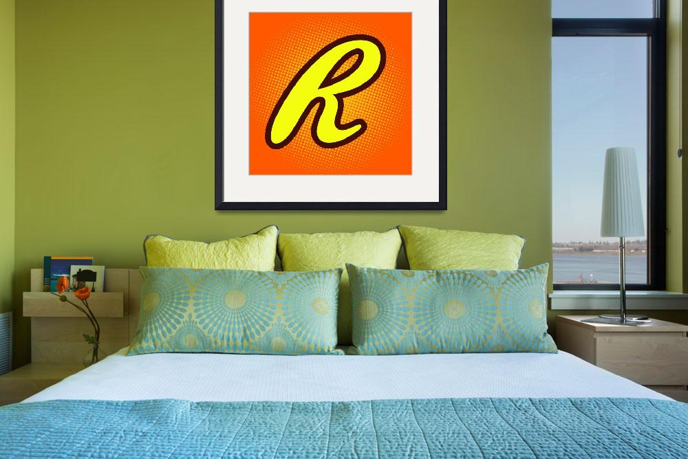 """""""R-reeses&quot  by LetterPopArt"""