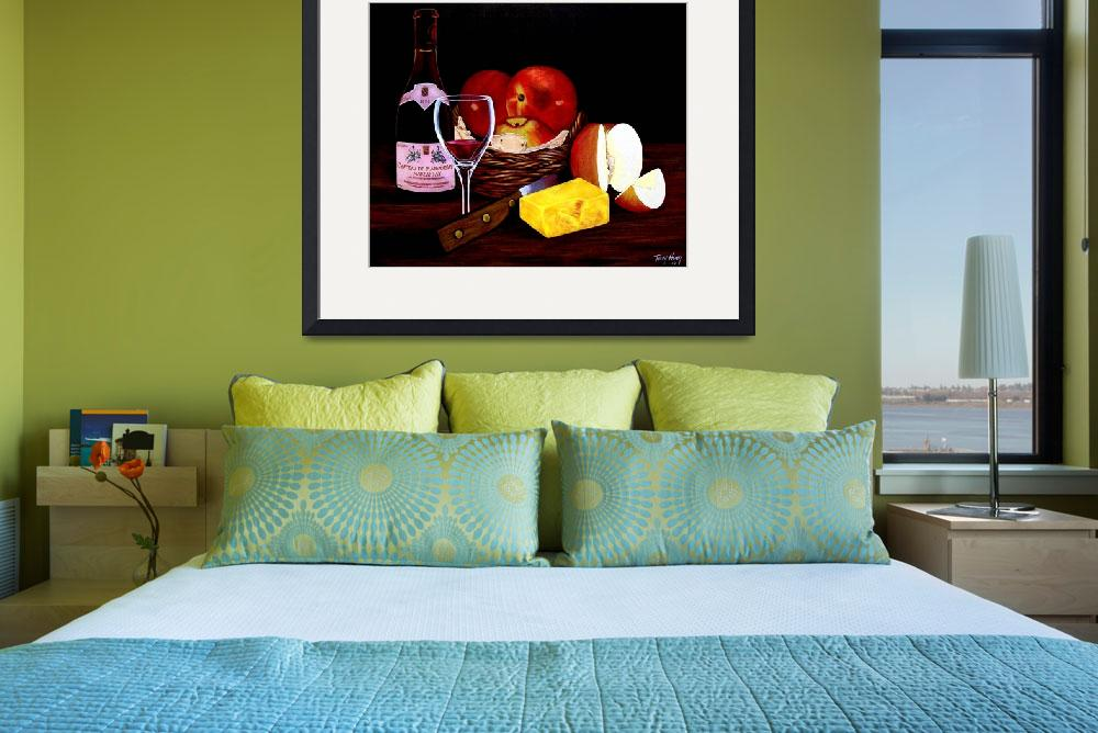 """""""APPLE STILL LIFE&quot  (2010) by terryhuey"""
