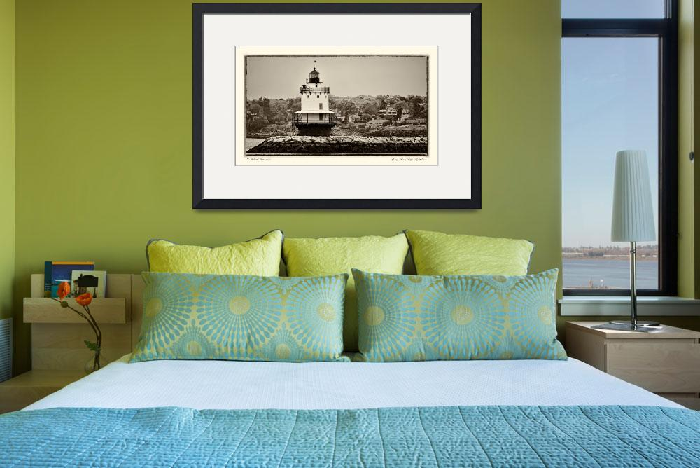 """""""Spring Point Ledge Lighthouse""""  (2011) by aknbean"""