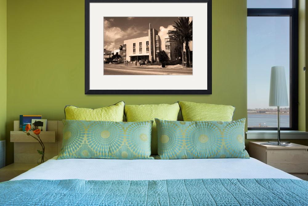 """""""Miami Beach - Art Deco&quot  (2003) by Ffooter"""